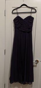 Dark purple dessy collection dress